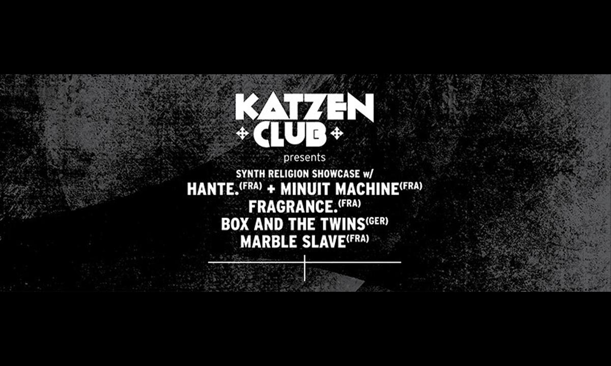 Katzenclub - Synth Religion Showcase